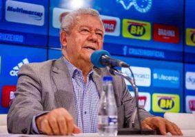 José Dalai Rocha, atual presidente do Cruzeiro